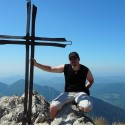 Kríž na vrchole Veľkého Rozsutca.