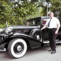 Strýko s vytúženým autom :-).