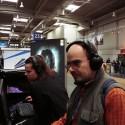 Jurko pri hraní PC hier v pavilóne Intel Extreme Masters.