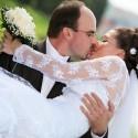 Túto svadobnú fotografiu si dáme zarámovať :-*