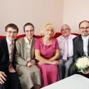 Rodina Chlebcová s budúcou nevestou.