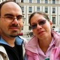 Ďalšia spoločná foto na nádvorí Pražského hradu :-).