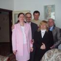 Rodinné foto zo zásnub.