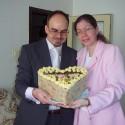 Naša torta k zásnubám.