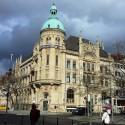 Budova nemeckej banky.