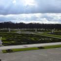 Herrenhäuser Gärten hneď pri vstupe.