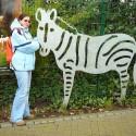 Zebra, len škoda, že železná.