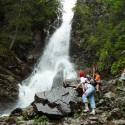 Roháčsky vodopád v celej svojej kráse.